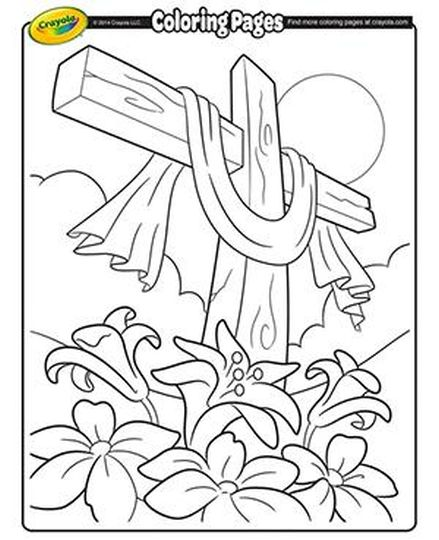 He Is Risen Coloring Page 49