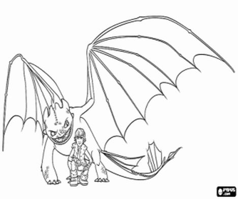 How To Train Your Dragon Coloring Pages Monstrous Nightmare 27