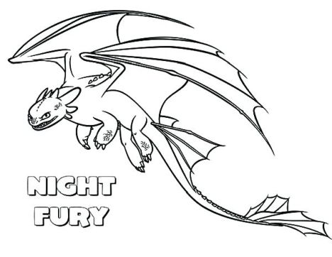 How To Train Your Dragon Coloring Pages Monstrous Nightmare 29