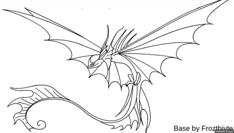 How To Train Your Dragon Coloring Pages Monstrous Nightmare 45