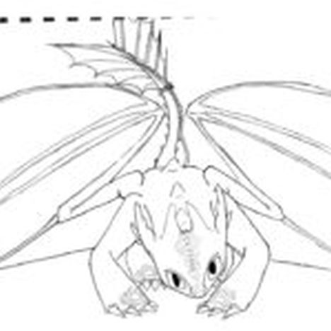 How To Train Your Dragon Coloring Pages Monstrous Nightmare 58