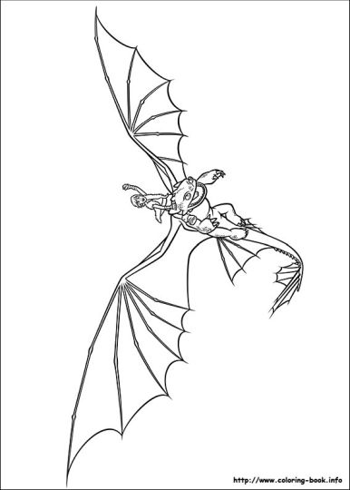 How To Train Your Dragon Coloring Pages Monstrous Nightmare 7