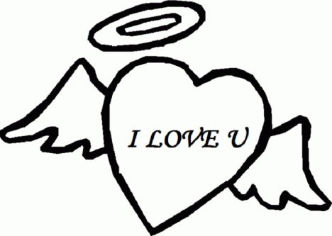 I Love You Coloring Pages For Teenagers Printable 15