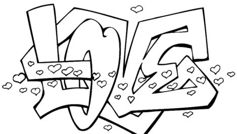 I Love You Coloring Pages For Teenagers Printable 16