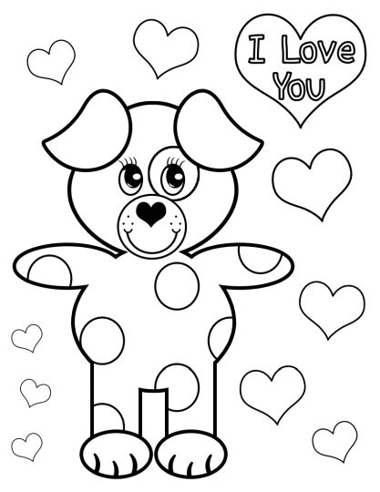 I Love You Coloring Pages For Teenagers Printable 29