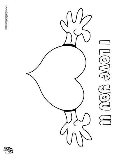I Love You Coloring Pages For Teenagers Printable - Part 1