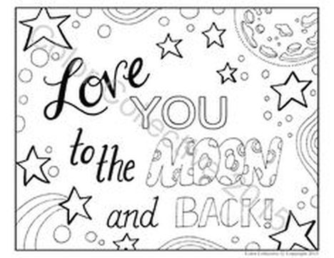 I Love You Coloring Pages For Agers Printable Part 4