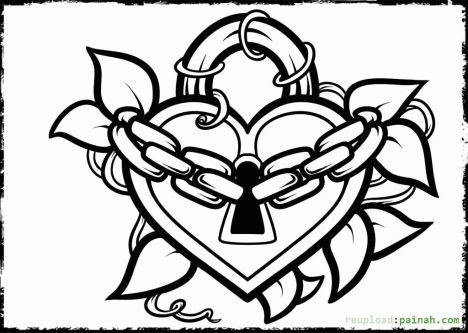 I Love You Coloring Pages For Teenagers Printable 32