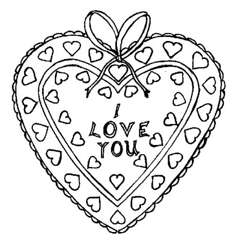 I Love You Coloring Pages For Teenagers Printable 38