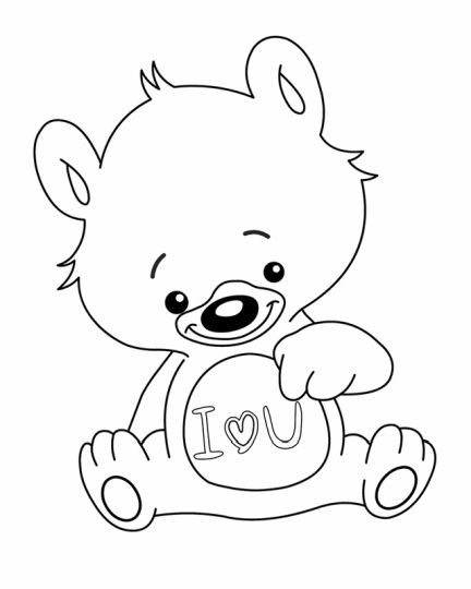 I Love You Coloring Pages For Teenagers Printable 5