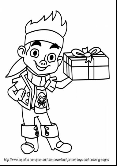 Jake And The Neverland Pirates Coloring Pages 11
