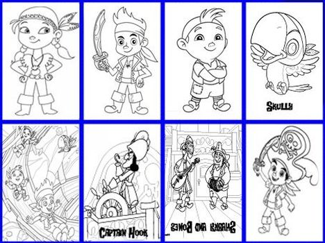 Jake And The Neverland Pirates Coloring Pages 17
