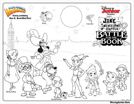 Jake And The Neverland Pirates Coloring Pages 18