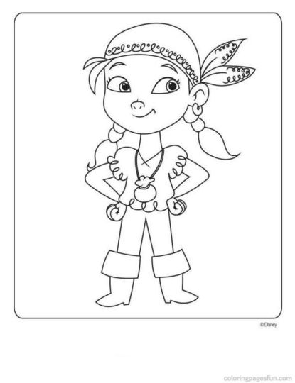 Jake And The Neverland Pirates Coloring Pages 19