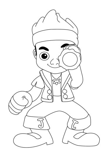 Jake And The Neverland Pirates Coloring Pages 20