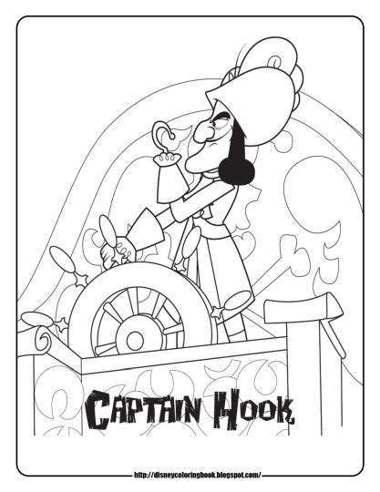 Jake And The Neverland Pirates Coloring Pages Part 3