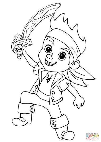 Jake And The Neverland Pirates Coloring Pages 27