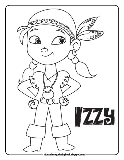 Jake And The Neverland Pirates Coloring Pages 29