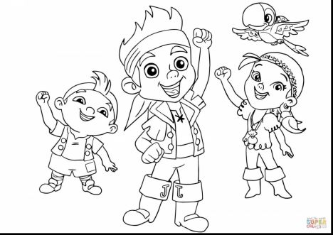 Jake And The Neverland Pirates Coloring Pages 30