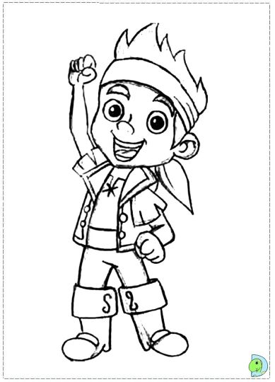 Jake And The Neverland Pirates Coloring Pages 31