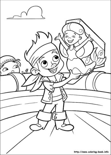 Jake And The Neverland Pirates Coloring Pages 32