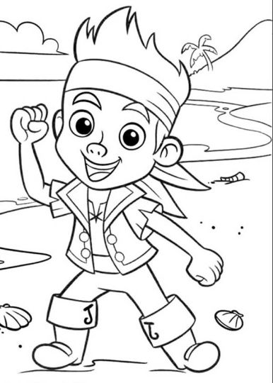 Jake And The Neverland Pirates Coloring Pages 34