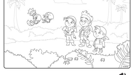 Jake And The Neverland Pirates Coloring Pages 37