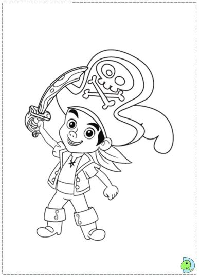 Jake And The Neverland Pirates Coloring Pages 38