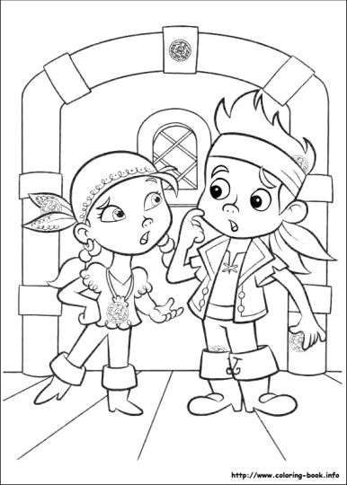 Jake And The Neverland Pirates Coloring Pages 40