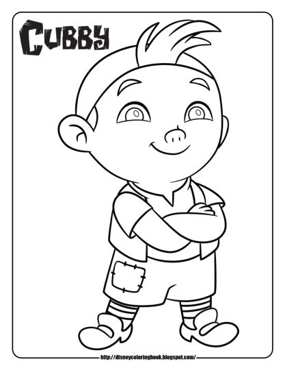 Jake And The Neverland Pirates Coloring Pages 41