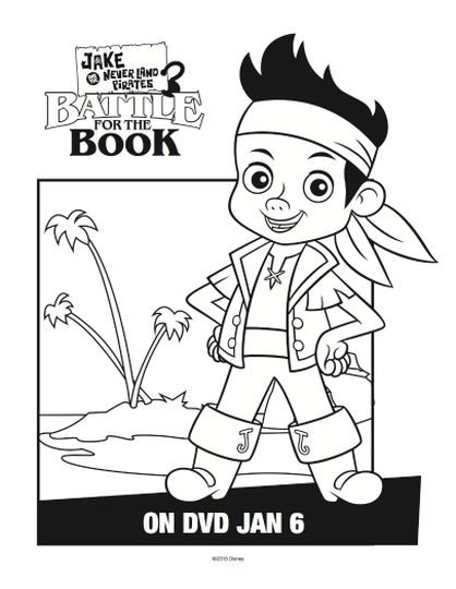 Jake And The Neverland Pirates Coloring Pages 44