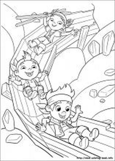 Jake And The Neverland Pirates Coloring Pages 5