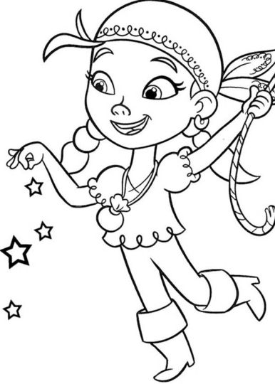 Jake And The Neverland Pirates Coloring Pages 53