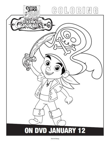 Jake And The Neverland Pirates Coloring Pages 56