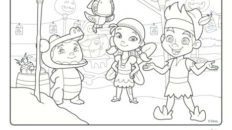 Jake And The Neverland Pirates Coloring Pages 57
