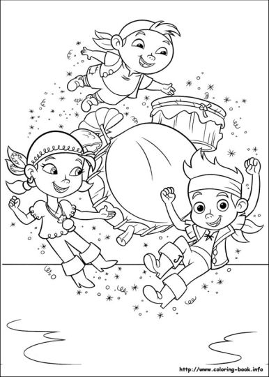 Jake And The Neverland Pirates Coloring Pages 6