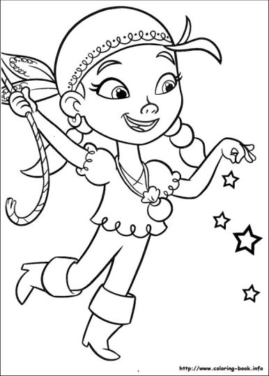 Jake And The Neverland Pirates Coloring Pages 9
