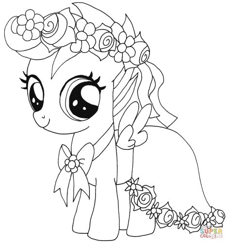 My Little Pony Coloring Pages Princess Celestia 19