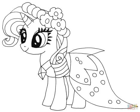 My Little Pony Coloring Pages Princess Celestia 37