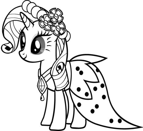 My Little Pony Coloring Pages Princess Celestia 38