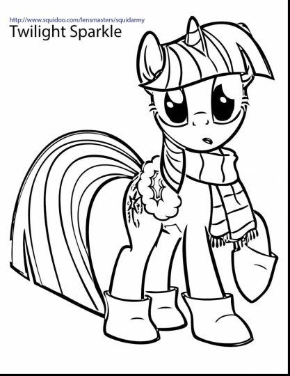 My Little Pony Coloring Pages Princess Celestia Part 5