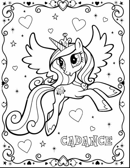My Little Pony Coloring Pages Rainbow Dash 28