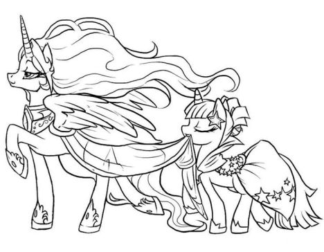 My Little Pony Coloring Pages Rainbow Dash 54