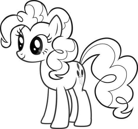 My Little Pony Coloring Pages Rainbow Dash 65