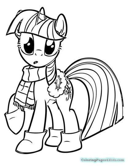 My Little Pony Equestria Girls Coloring Pages Twilight Sparkle 10