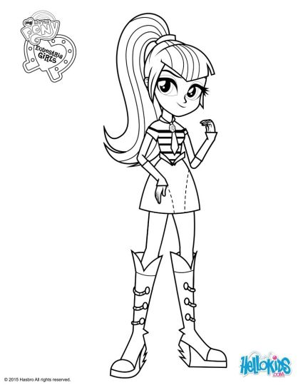 my little pony equestria girls coloring pages twilight sparkle part 3 - Equestria Girls Coloring Pages