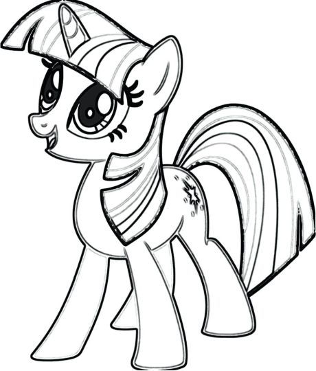 My Little Pony Equestria Girls Coloring Pages Twilight Sparkle 4