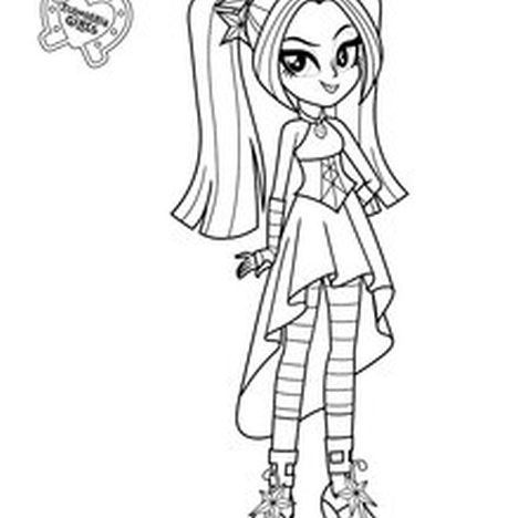My Little Pony Equestria Girls Coloring Pages Twilight Sparkle 44