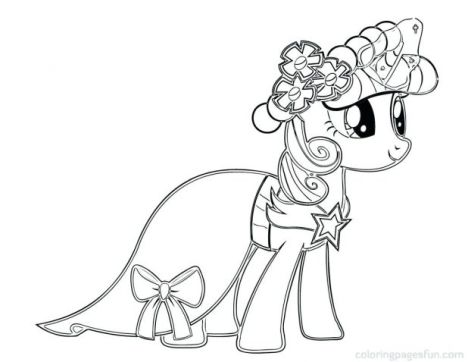 My Little Pony Equestria Girls Coloring Pages Twilight Sparkle 5
