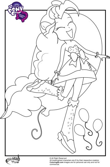 My Little Pony Equestria Girls Coloring Pages Twilight Sparkle 53